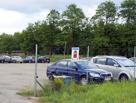 Parking Mercedes